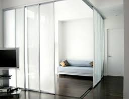 Furniture: Easi Slide White Room Divider Door System Internal Room Dividers  Within Sliding Door Room