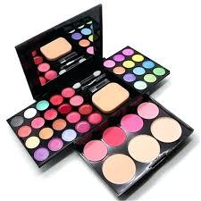 makeup set box professional color make up sets lip gloss foundation powder kit in india