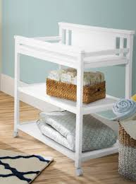 Delta Children Bennington Changing Table - White Ambiance