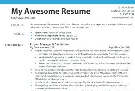How To Write A Resume For A Job Resume Template No Work Experience