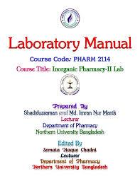 Qualitative Analysis Of Salts Lab Manual Manik