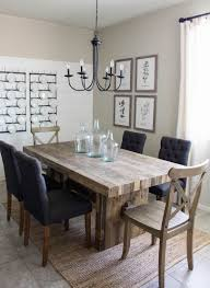 Dining Room Kitchen Modern Farmhouse Dining Room Diy Shiplap Home Sweet Home