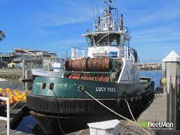 Vessel LUCY FOSS (Pusher/Tug) IMO 2228224, MMSI 367408930