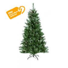 8 Feet Snow Tipped Pine Christmas Tree