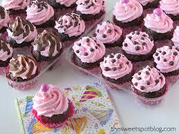 7 Birthday Cupcakes For Girls Photo Little Girl Birthday Cupcake