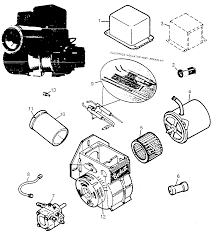 Oil furnace parts diagram with photos large size