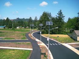 Automated Solar Street Light System Ppt German Town Of Gescher Installs 5 Solar Street Lamps That