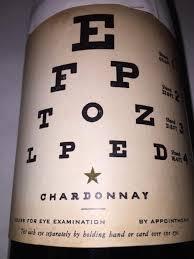 Nv Eye Chart Wines Chardonnay Usa California Cellartracker