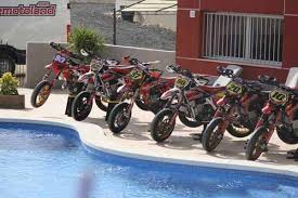 supermotoland supermoto holidays and training in spain