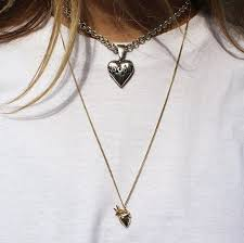 small 9ct gold anatomical heart necklace the great frog