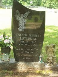 Noreen Bennett Rutledge (1947-2003) - Find A Grave Memorial