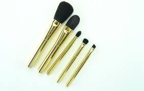 makeup brush sephora makeup brush set sephora collection gold star skinny brush set powder