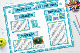 science fair headings printable science fair board tutorial school project printables
