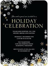 Corporate Holiday Party Invite Sample Holiday Party Invitations Invitation Wording Samples