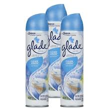 office air freshener. Wonderful Office Glade Car Home U0026 Office Room Spray Air Freshener Odor Eliminator 8Oz  Clean Linen Scent Pack Of 3 With P