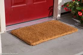 front door mats outdoorOutdoor DoormatsRubbercal Ramp Cleat Nonslip Outdoor Rubber Mats