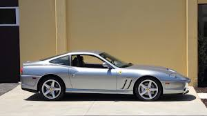 Despite the similarities between the 550 and 575m, there are several upgrades that separate the two: 2002 Ferrari 575 Maranello S122 Monterey 2016