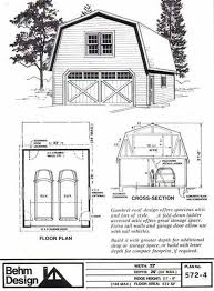 Support For Gambrel Roof  Barn Fig And BracedGambrel Roof Plans