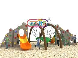 children climbing wall outdoor combination sport playground