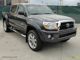 2011 Toyota Tacoma V6 SR5 PreRunner Double Cab in Magnetic Gray ...