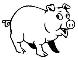 Small Picture Top 93 Pig Coloring Pages Free Coloring Page
