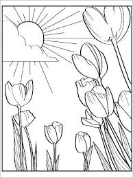 Coloring Pages For Kids Flowers Printable Visitpollinoinfo