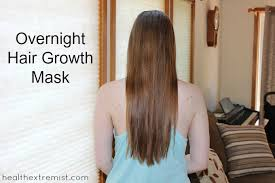 diy overnight hair growth mask i apply this hair growth mask every night to promote
