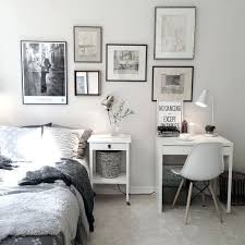 Lovely Small Work Desk Charming Bedroom With Space More Ideas