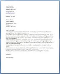vet tech cover letter great idea on formatting and introduction but this example should have sample veterinary resume