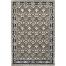 oriental weavers richmond 119u3 grey navy area rug