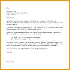 Invitation Letter Sample For Visa Application Fresh Format