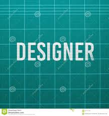 Designer Crossword Designer Word On Cutting Mat Stock Image Image Of