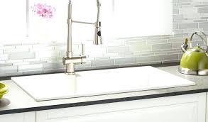 White Kitchen Sink White Drop In Kitchen Sink House And White