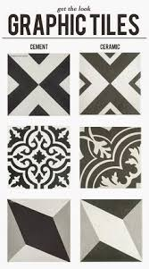 Black and white ceramic tile floor Garage Encaustic Graphic Tiles At Fraction Of The Price Pinterest 108 Best Flooring Tile Images In 2019 Tiles Floor Ground Covering