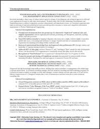 Telecommunications Executive Resume Sample