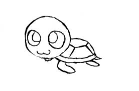 Small Picture Cute Turtle Drawing Tumblr