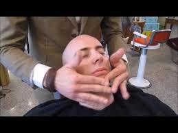 Resultado de imagen de barber massage after shave