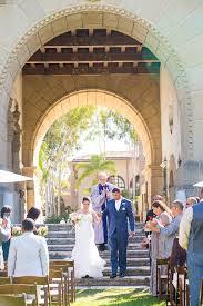 santa barbara sunken garden wedding 3