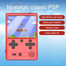 Máy chơi game mini cầm tay 500 trò chất lượng 3.0 inch dành cho bé tại Nước  ngoài