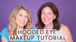 hooded eye makeup tutorial with julie morgan filmed at ipsy os you