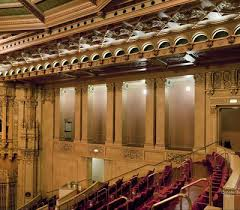 Copley Theater Seating Chart Thorough Copley Symphony Hall Seating Chart San Diego Copley