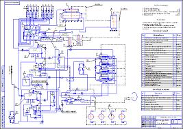 Установка комплексной подготовки газа Схема технологическая  Установка комплексной подготовки газа Схема технологическая Чертеж Оборудование для добычи и подготовки нефти