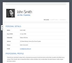 Top 10 Online Resume Templates For Web Designers