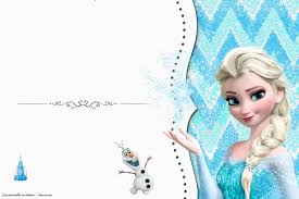 Free Frozen Birthday Invitation Templates Free Invitation