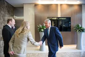 u s department of defense photo essay defense secretary chuck hagel right meets bette stebbins inch center the senior