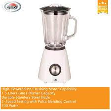 kyowa kw 4720 blender w glass pitcher 1 5 liters durable stainless steel blade philippines