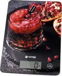 <b>Кухонные весы Vitek VT</b>-<b>8032</b>(BK) — купить в интернет-магазине ...