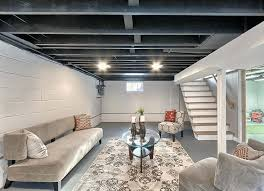 basement lighting options. Basement Lighting Ideas Image Of Decorative Unfinished Low Ceiling . Options
