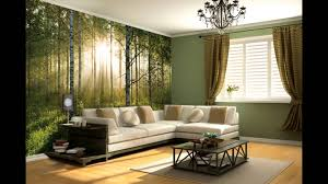 Wall Mural For Living Room Forest Sunset Wall Mural Video Wesellwallmuralscom Youtube