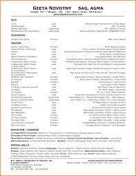 Download Theater Resume Example Haadyaooverbayresort Com